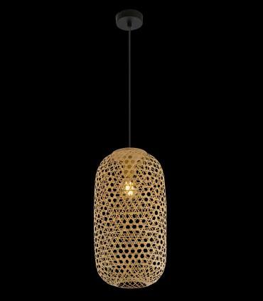 Lámpara Colgante de Bambú Natural alt:43cm