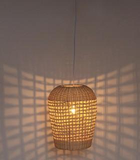 Lámpara Ratán Natural alt:40cm