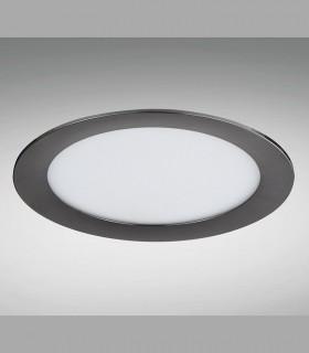 Downlight Negro Mate para exterior Redondo 4000K IP65 YLD