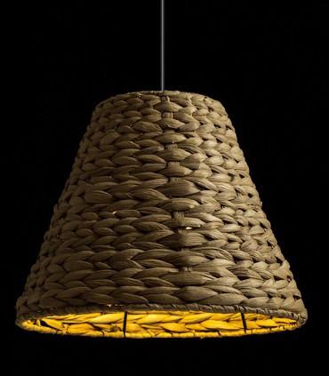 Lámpara Colgante JAMAICA de Fibra Natural Ø34cm
