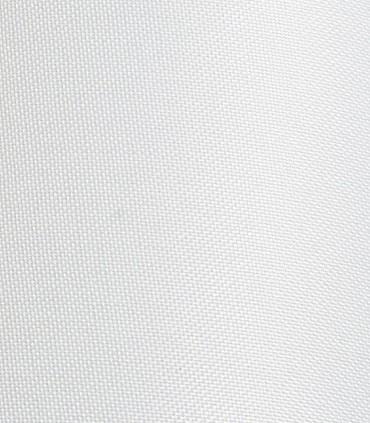 Detalle de tejido pantalla blanca Lámpara Brazo Articulado Desplazable BROADWAY Cromo con Pantalla Ø30cm