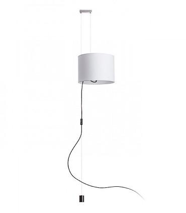 Lámpara colgante altura ajustable para techo sin toma de corriente Ø35.5cm BROADWAY