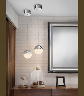 Lámpara 1 luz LED SPHERE 12cm - Schuller
