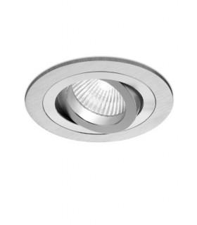 Aro Foco Empotrable Redondo Aluminio BASIC Orientable C0001 Mantra