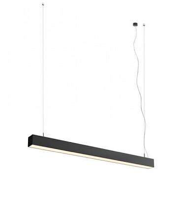 Lámpara Suspensión Led Lineal PESANTE 75 40W 75cm Negro 3000K