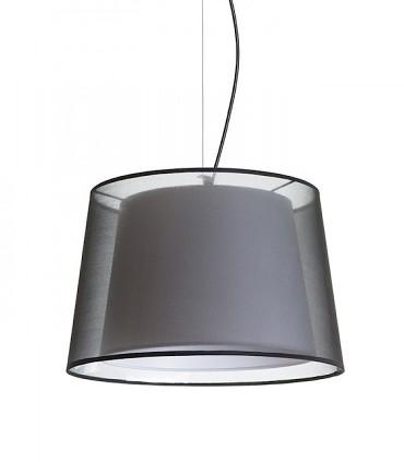 Lámpara Suspensión doble pantalla ESP43 Ø43cm