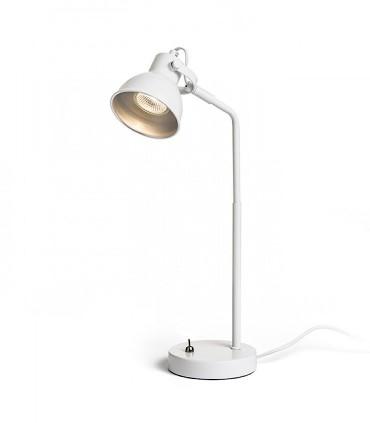Lámpara de Mesa Retro ROSITA GU10 Blanco