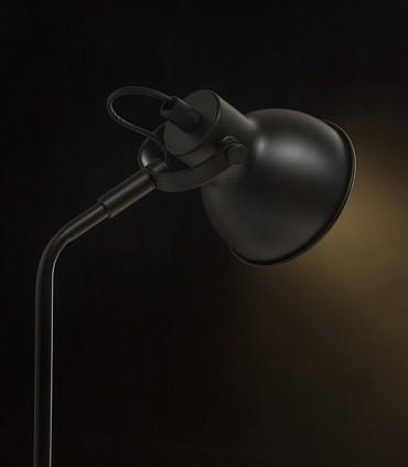 Lámpara de Mesa Retro ROSITA GU10 Negro