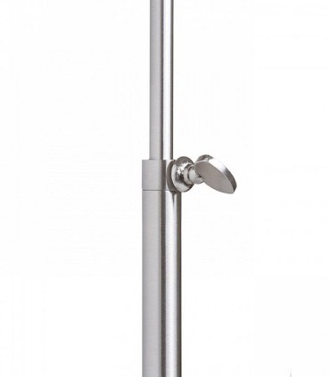 DetalleLámpara de mesa regulable en altura EDIKA níquel mate Ø30