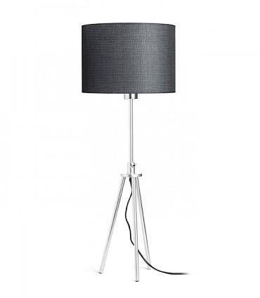 Lámpara de mesa trípode estirada regulable en altura GARDETTE Aluminio Ø30