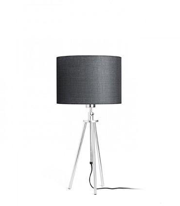Lámpara de mesa trípode regulable en altura GARDETTE Aluminio Ø30