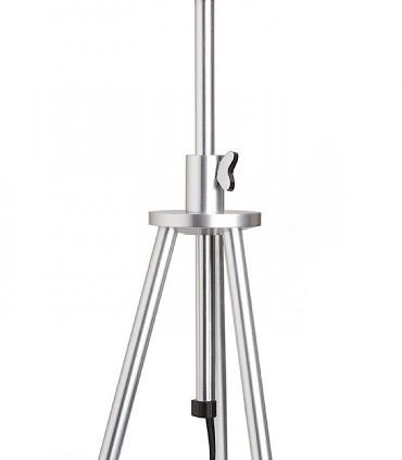 Detalle Lámpara de mesa trípode regulable en altura GARDETTE Aluminio Ø30
