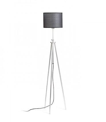 Lámpara de pie trípode estirada regulable en altura GARDETTE  Aluminio Ø30