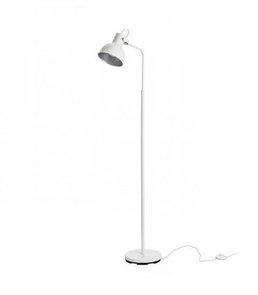 Lámpara de Pie Retro ROSITA GU10 Blanco/gris plata