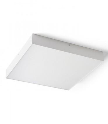 Plafón Led cuadrado LARISA SQ 40 50W 40cm Blanco