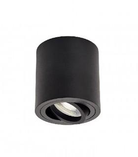 Foco De Superficie orientable SKIP GU10 Negro  JUERIC