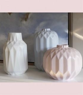 Jarrón cerámica ROSA mate