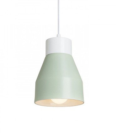 Lámpara Colgante Verde FRUTTI E27 Ø15cm