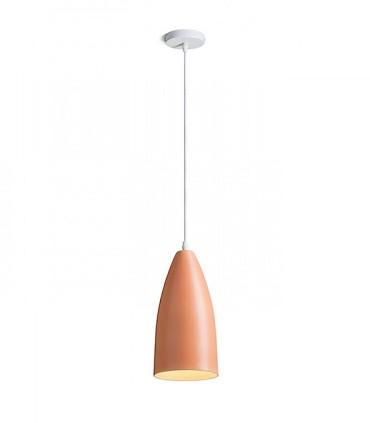 Lámpara Colgante Naranja TUTTI E27 Ø14,2cm