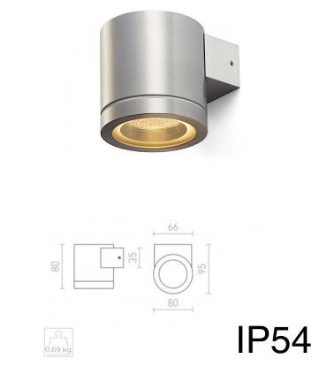 Dimensiones Aplique Aluminio MOIRE I GU10 IP54