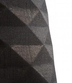 Detalle exterior Lámpara de techo con pantalla negro FLAMENCO E27 Ø36cm