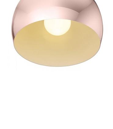 Detalle Lámpara colgante ASTON 30 cobre E27