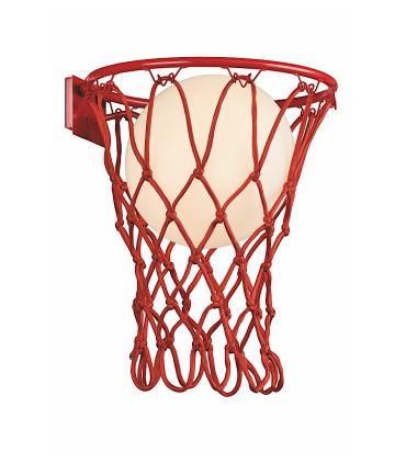 Aplique BASKETBALL Mantra, Rojo 7244