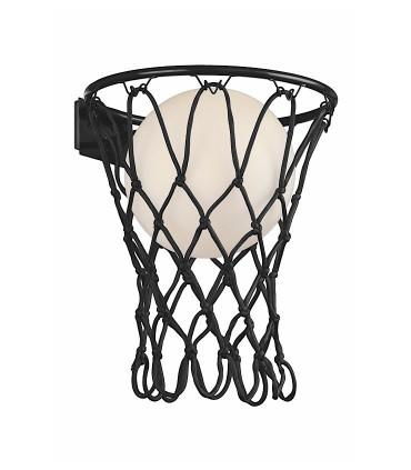 Aplique BASKETBALL Mantra Negro, 7243