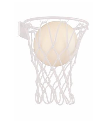 Aplique BASKETBALL Mantra Blanco 7242