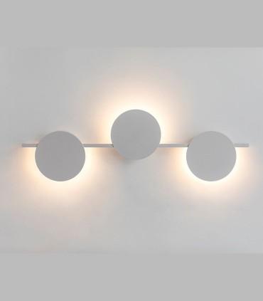 Aplique ERIS LED 24W 3000K Grande Blanco Mantra