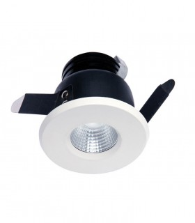 Foco Empotrable CÍES Led 7w IP54 Blanco Mantra