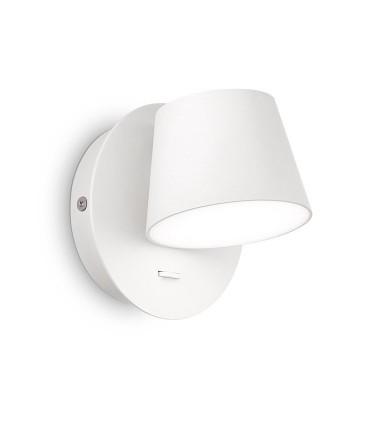 Aplique led Orientable GIM 6W blanco 167152 IDEAL LUX