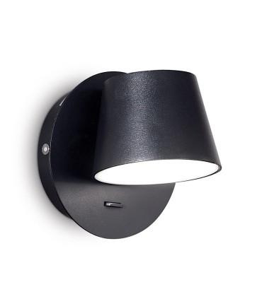 Aplique led Orientable GIM 6W negro 167121 IDEAL LUX
