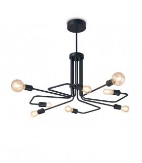 Lámpara TRIUMPH SP8 E27 Negro 242347 IDEAL LUX