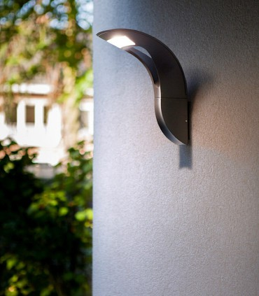 Aplique exterior Aluminio 18W 1.040lm 4000K