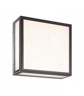 Aplique/Plafón BACHELOR  color gris oscuro (7055) LED 14W 3000K IP65 Mantra
