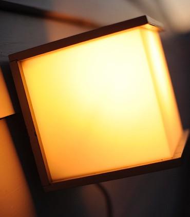 Aplique Exterior BXO Gris Oscuro E27 16.5cm