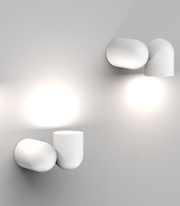 Foco superficie - Aplique Orientable IOS GU10 Blanco 7294 Mantra