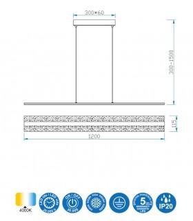 Características Lámpara Burbuja led 5790 Mantra