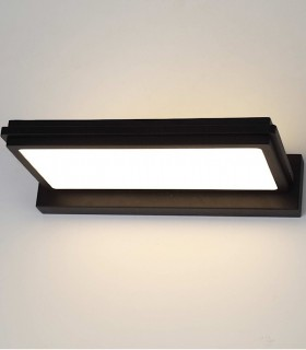Aplique Led 30W,  Dimmable NEW OR Negro, 3000K