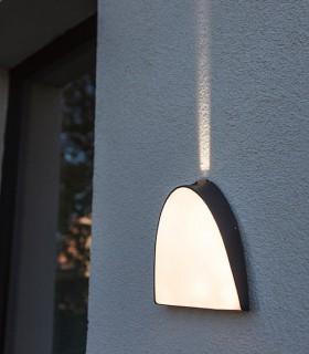 Aplique exterior Wall Aluminio 14W 800lm 3000K
