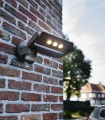 Aplique Exterior Spot 9w 605lm orientable con sensor de presencia