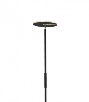 Lámpara de pie Led 20W Negro Regulable con mando a distancia