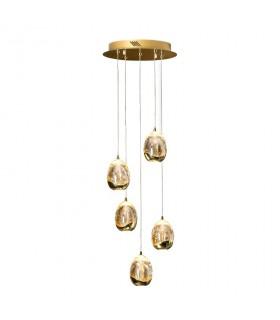 Lámpara 30cm ROCIO 5 led oro - Schuller 783529