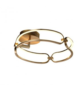 Plafón COLETTE 47 cm dorado led - Schuller 786430