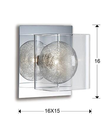 Aplique 1 luz ECLIPSE - Schuller 506847