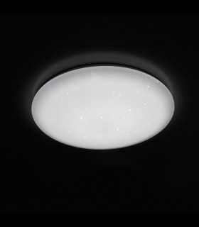 Plafón Led SEVER 100W Regulable Efecto Estrellas Ø60cm
