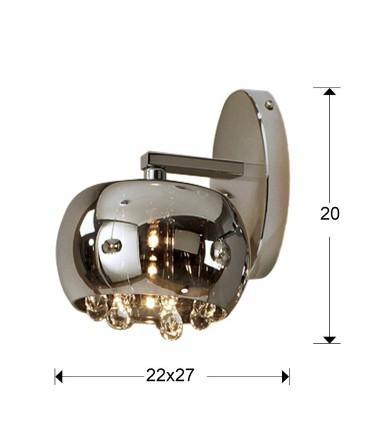 Aplique ARGOS 1 luz - Schuller  509327