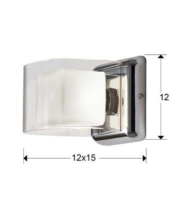 Aplique CUBE 1 luz - Schuller 183653