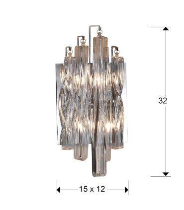 Aplique MANACOR 2 luces - Schuller 711324